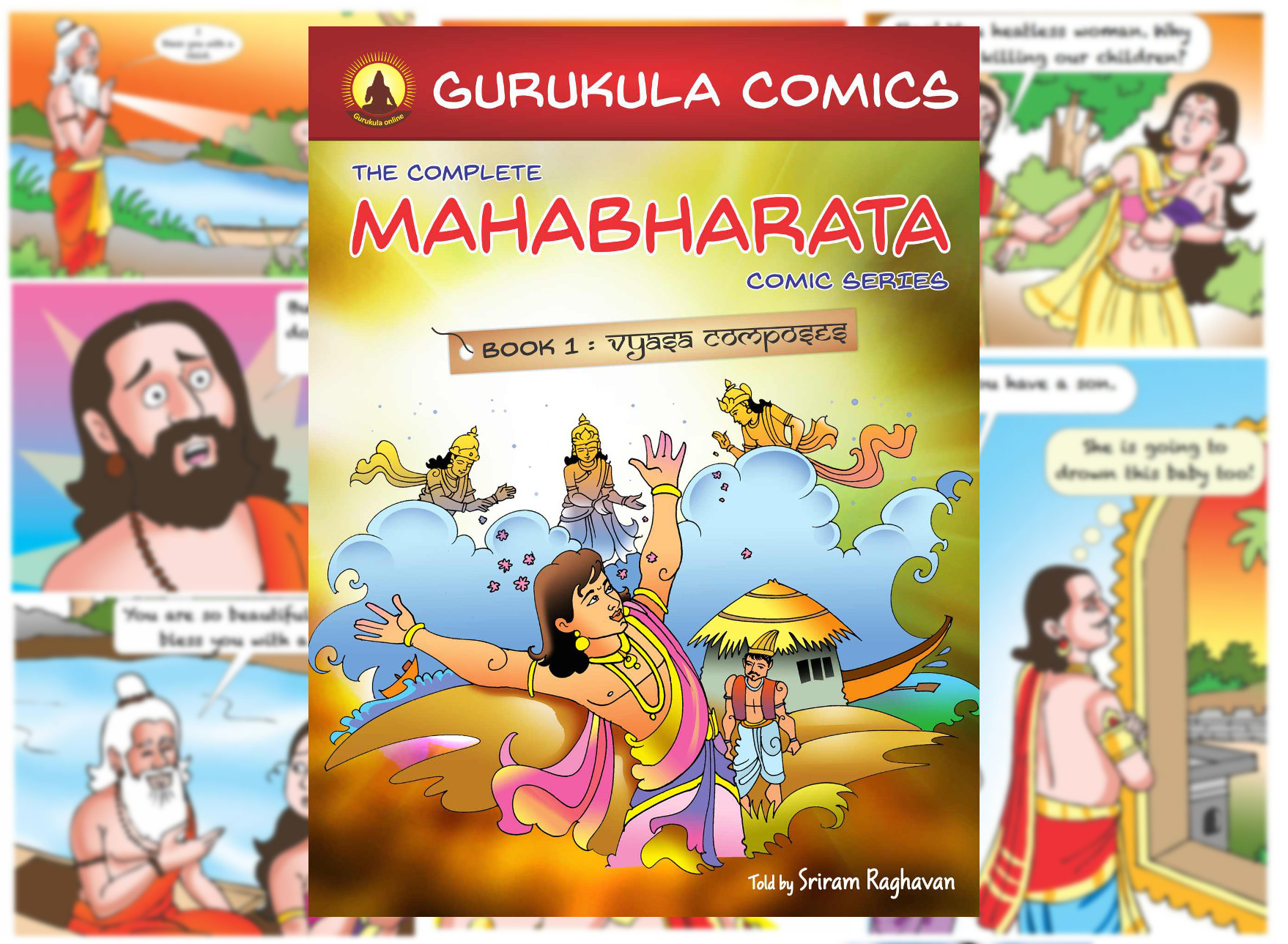 mahabharata story english pdf